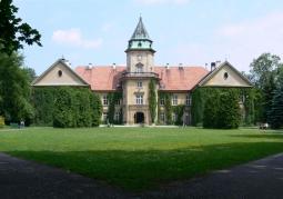 Elewacja frontowa zamku w Tarnobrzegu