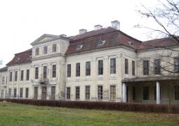 Elewacja ogrodowa pałacu