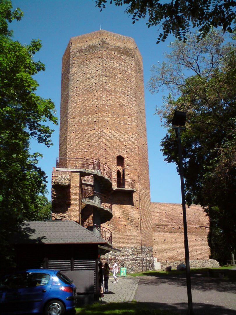Castle tower in Kruszwica