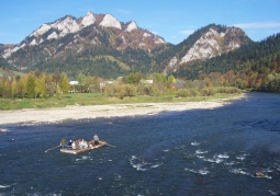 Three Crowns seen from the Dunajec Gorge