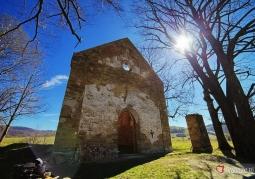 Ruiny greckokatolickiej cerkwii pw. św. Paraskewii - Krywe