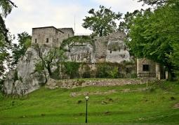 Ruiny Zamku Bąkowiec - Morsko