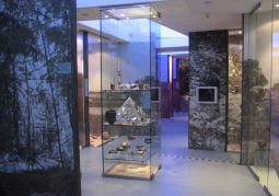 Ekspozycja archeologiczna muzeum w Łodzi