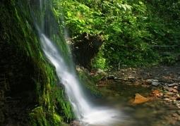 Ostrowski Waterfall in Stary Siło