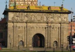 Fasada zachodnia Bramy Wyżynnej