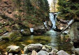 Karkonoski Park Narodowy - Wodospad Szklarki