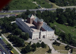 Aerial view of Lublin Castle