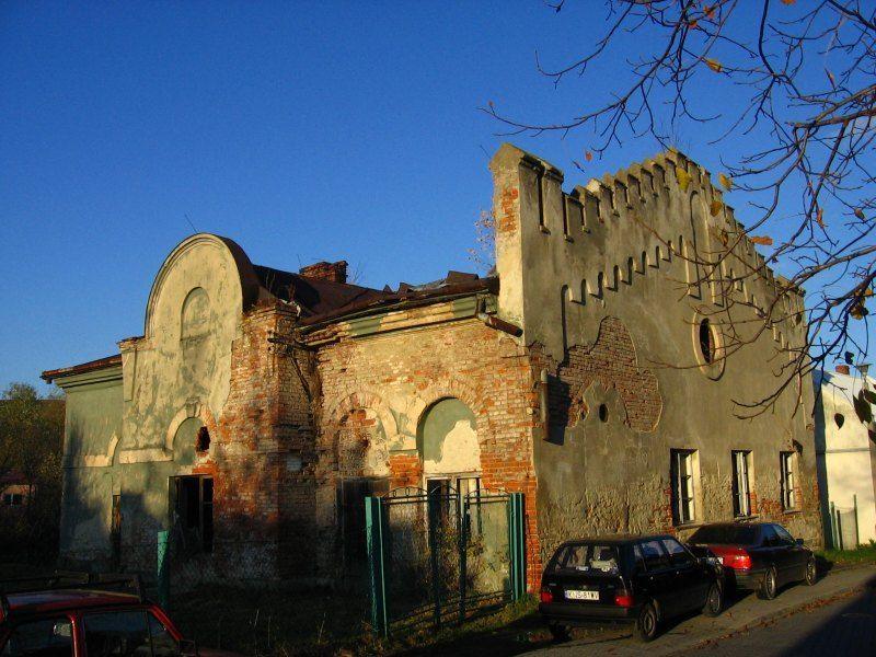 Budynek synagogi w Grybowie