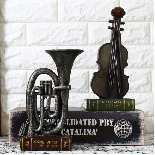Mô hình đàn vĩ cầm cổ Vintage