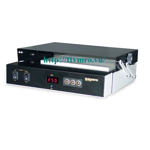 Pre-Heat and Reflow Hot Plate, QUICK 870 ESD