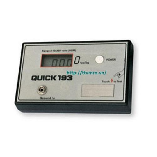 Máy kiểm tra độ tĩnh điện, QUICK 193