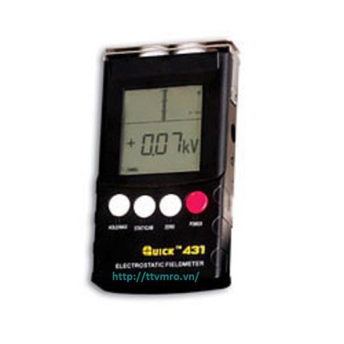 Đồng hồ đo tĩnh điện, QUICK 431