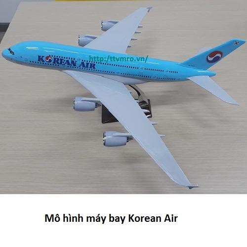 Mô hình máy bay Korean airlines