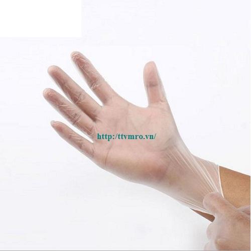 Gang tay PVC phòng sạch