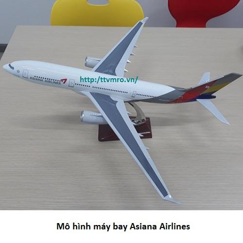 Mô hình máy bay Asiana airlines