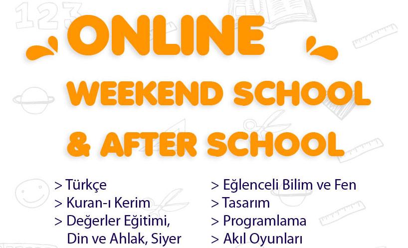 Online Weekend School and After School