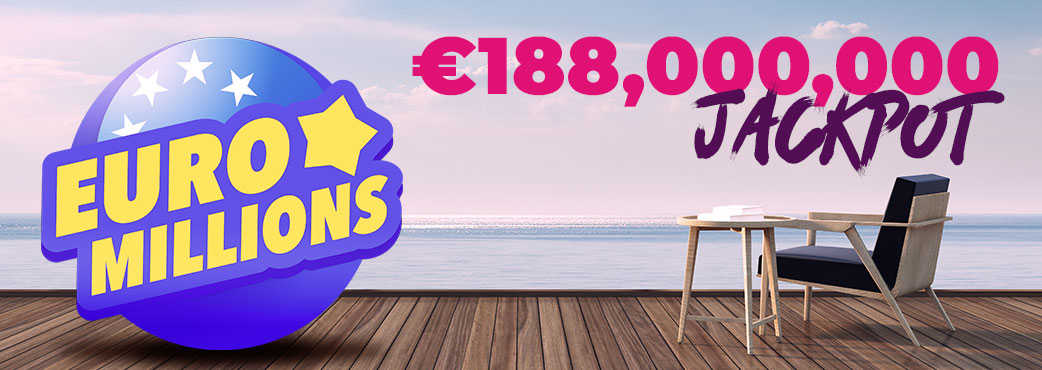 EuroMillions is offering its biggest ever jackpot!