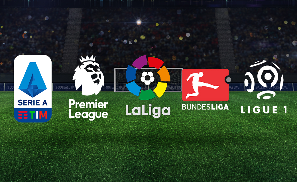This weekend's top football matches in Top 5 European Leagues