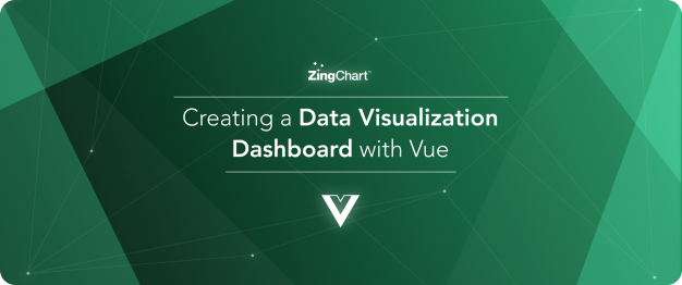 Cover image for 'Integrating ZingChart and Vue' blog series