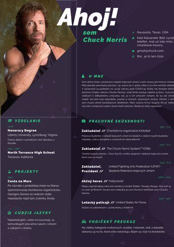 Životopis - Chuck Norris