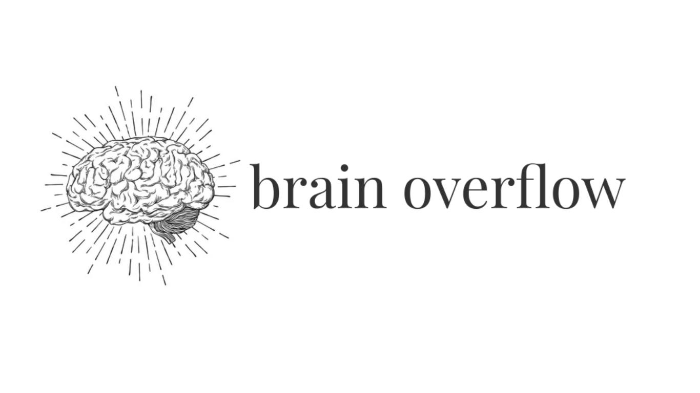 Brain Overflow  - newsletter logo