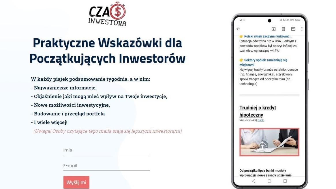 Czas Inwestora - newsletter logo