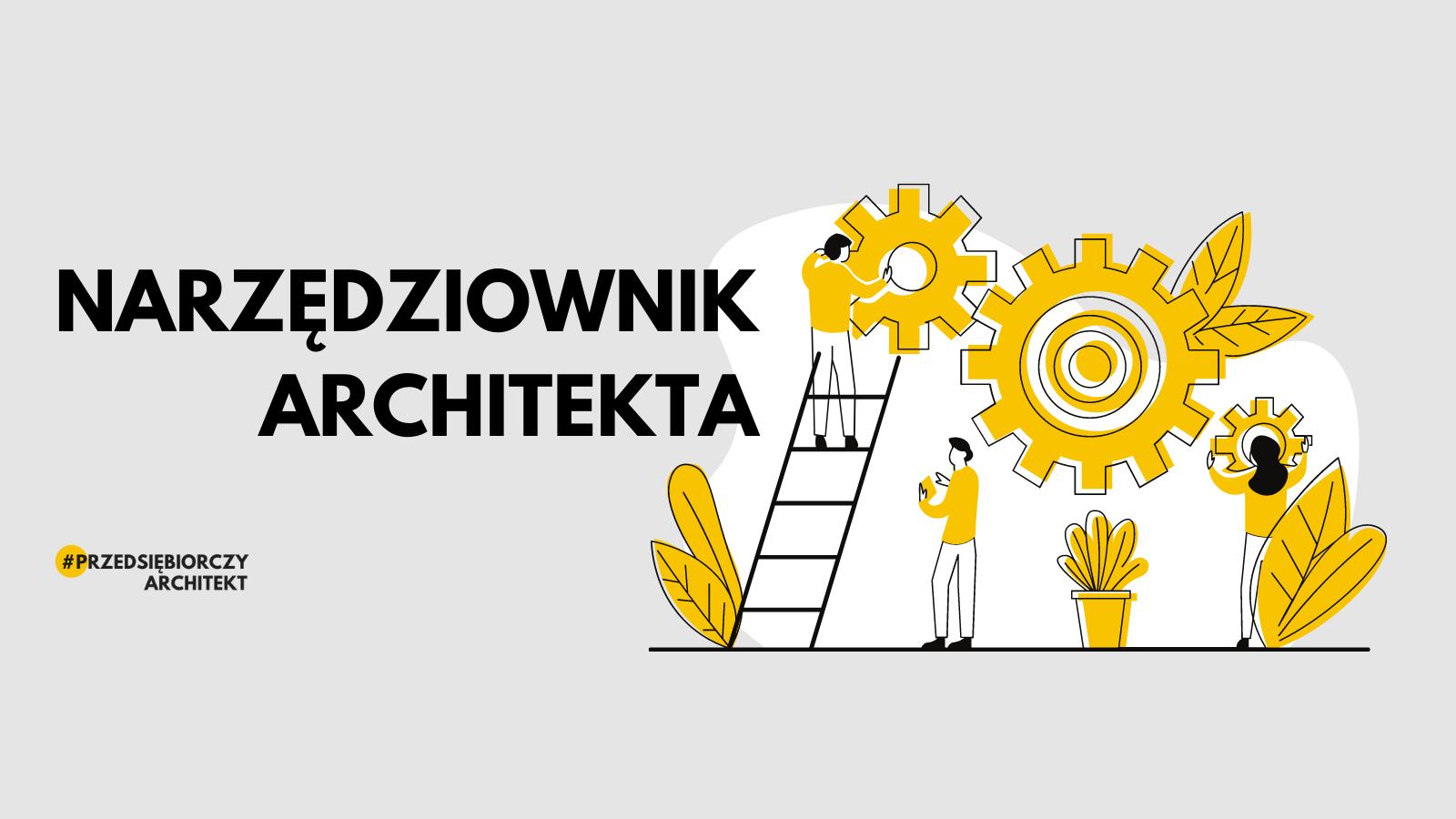 Narzędziownik Architekta - newsletter logo