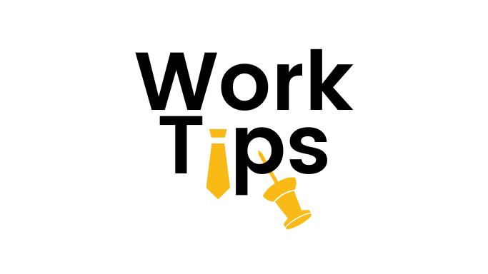 WorkTips - newsletter logo