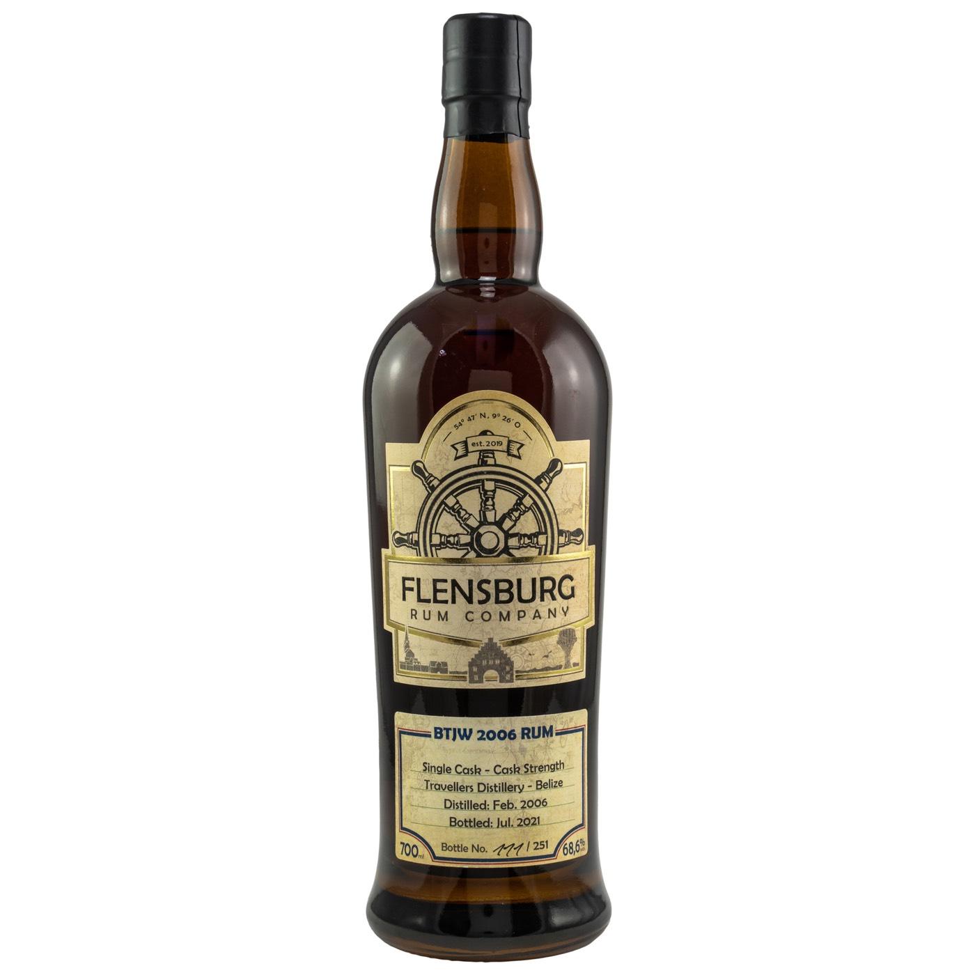 Bottle image of Flensburg Rum Company Selected by Jürgen Wiese BTJW