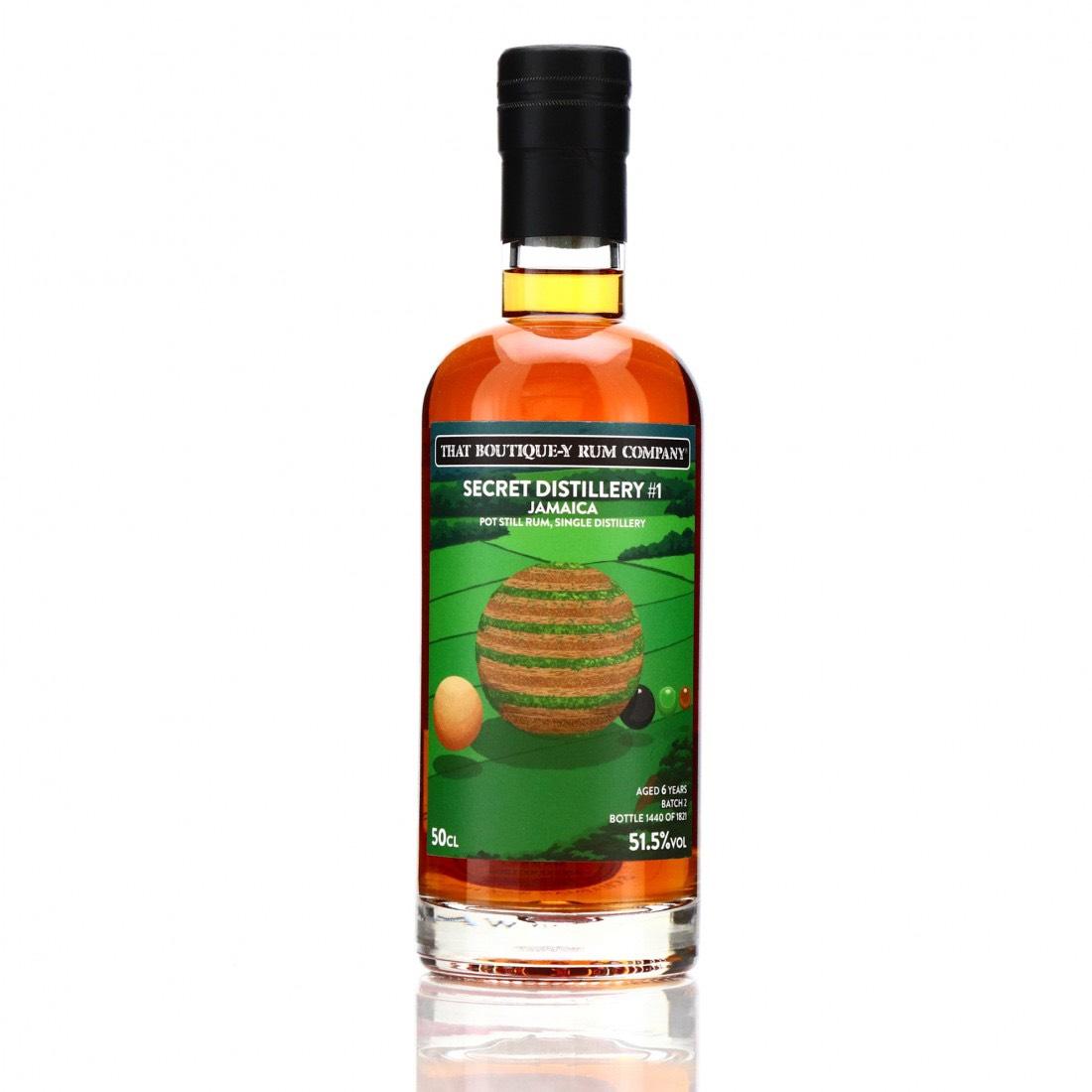 Bottle image of Secret Distillery #1