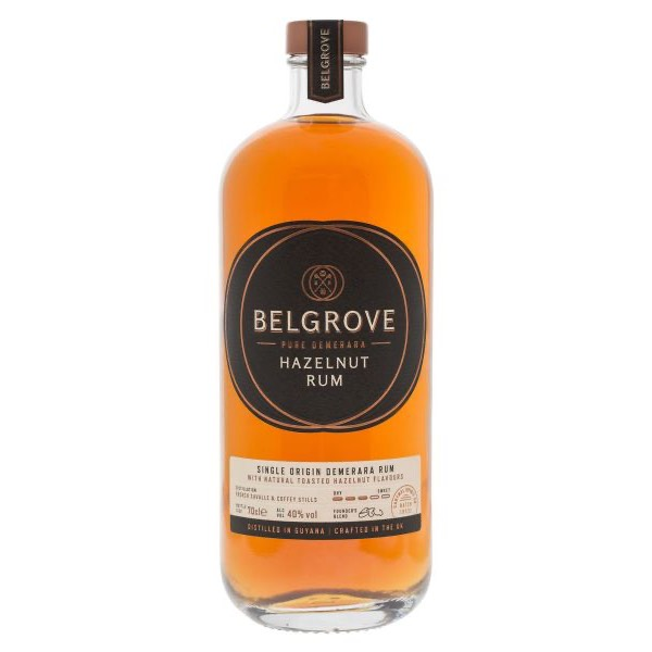 Bottle image of Belgrove Pure Demerara Hazelnut Rum