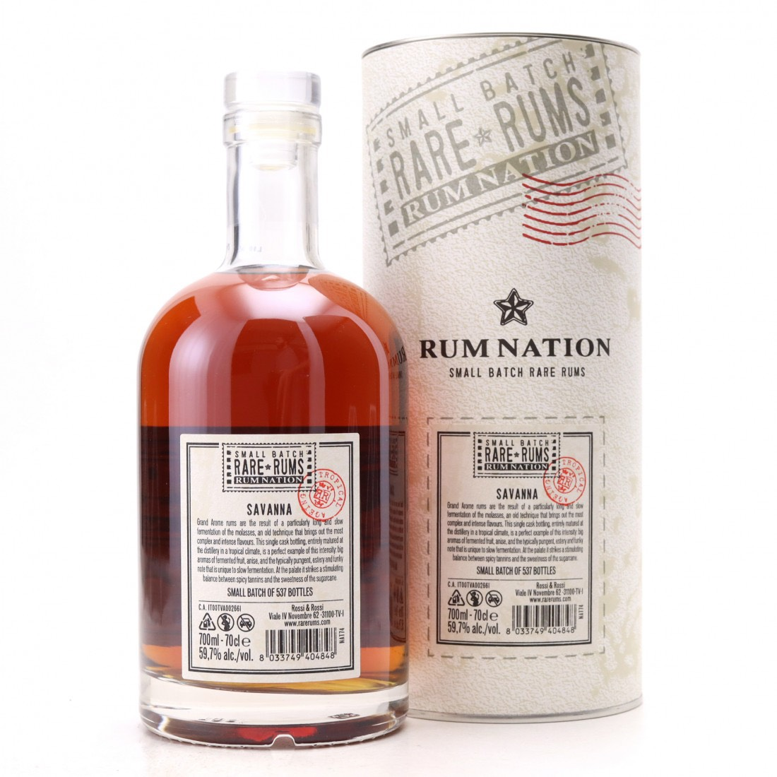 Bottle image of Small Batch Rare Rums Grand Arôme