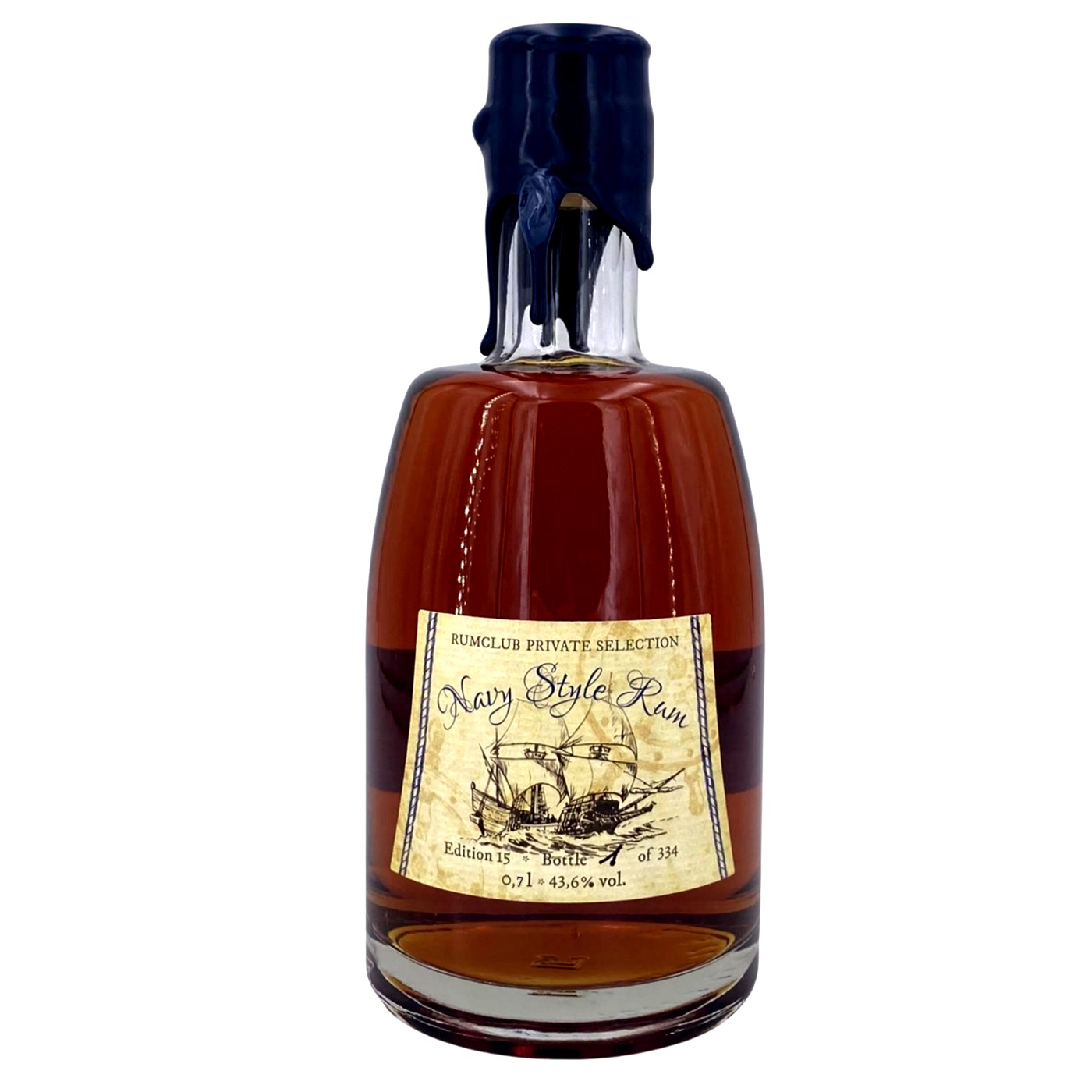 Bottle image of Rumclub Private Selection Ed. 15 Navy Style Rum
