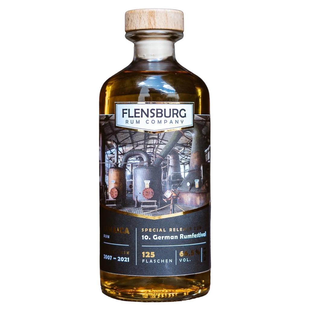 Bottle image of Flensburg Rum Company Special Bottling zum GRF 2021 C<>H