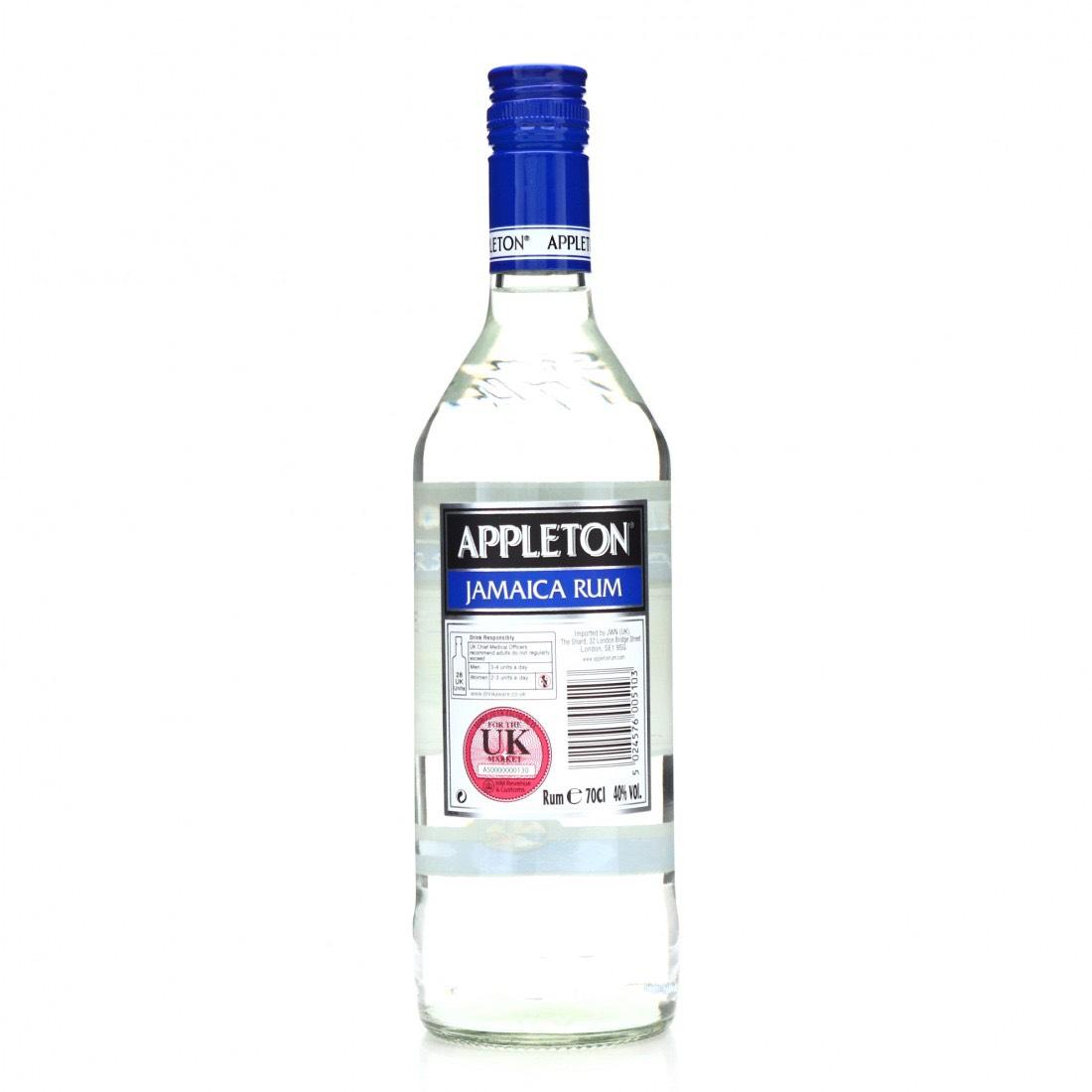 Bottle image of White Classic Jamaica Rum