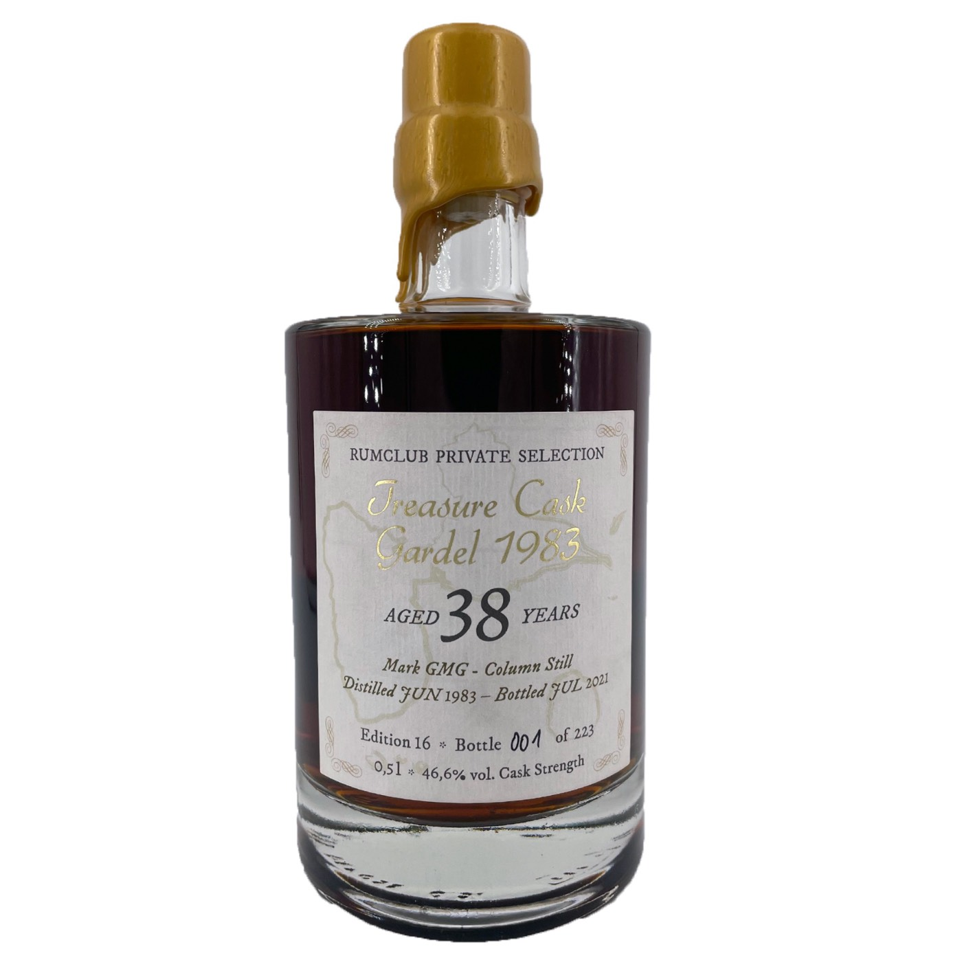 Bottle image of Rumclub Private Selection Ed. 16 Treasure Cask GMG