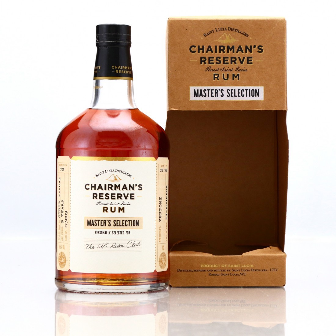 Bottle image of Chairman's Reserve Master's Selection (The UK Rum Club)
