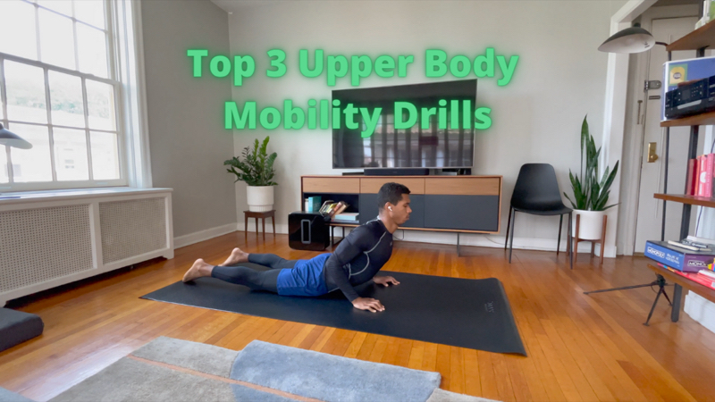 Activity image of 3 Favorite Upper Body Mobility Drills
