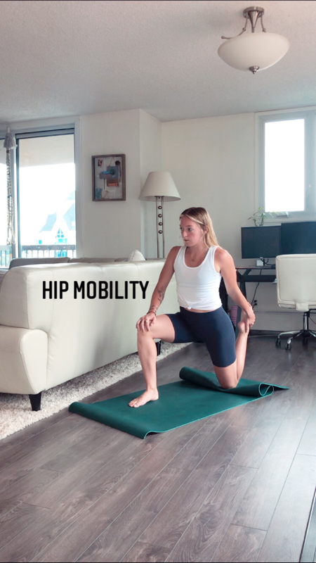 Activity image of Hip Mobility Drills
