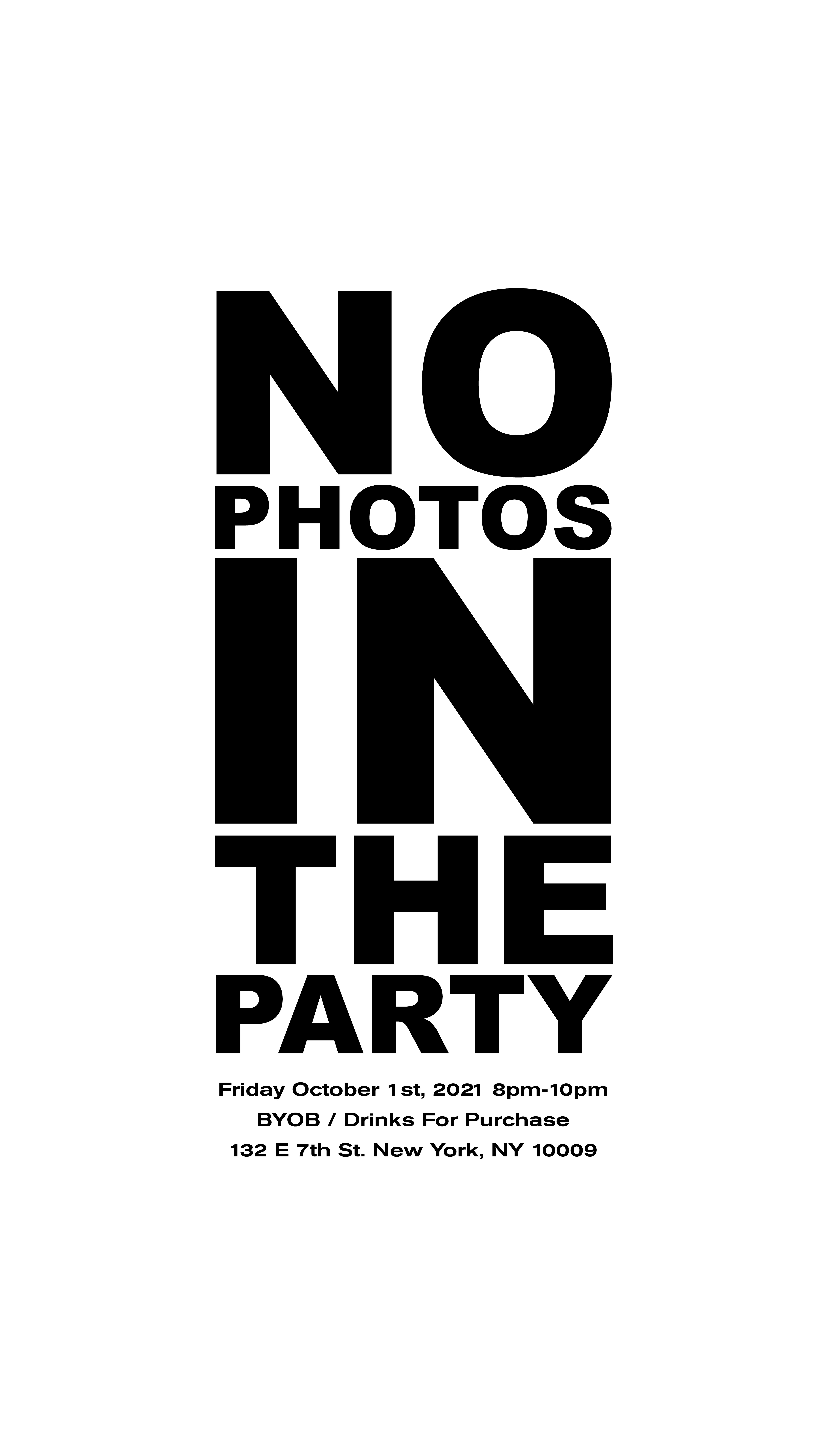 image party flyer